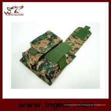 Nos táctico Airsoft Molle M4 doble bolsa del compartimiento para bolsa de Mag