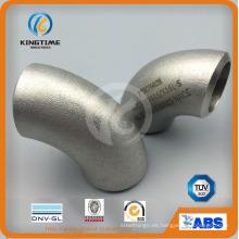 Soldadura a tope del acero inoxidable Wp316 / 316L que cabe la colocación de tuberías del codo 90d con Dnv (KT0320)