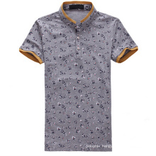 Wholesale Printed 100% Nylon Thick Polo Shirt