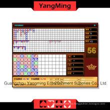 Reslut a tabela do casino da exposição (YM-EC01)