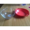 Hot-Venda Bowl de vidro com tampa para mesa