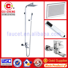 high quality bathroom shower set with big rain head