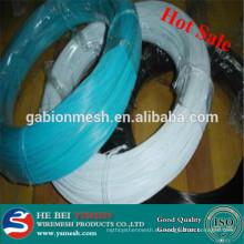 Hilo de hierro revestido pvc del color de la calidad del hight 2014 (fabricación)