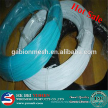 2014 hight quality color pvc coated iron wire (manufacture)