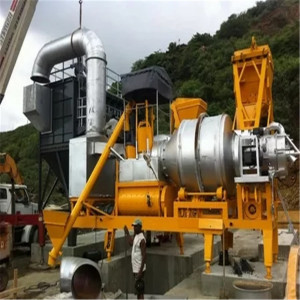 Portable Drum Asphalt Mixing Plant
