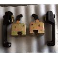 Terex spare parts door lock,door handle lock15272280