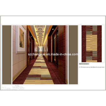 High Quality Machine Made Nylon Printed Hotel Carpet