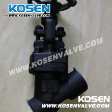 Forged Steel Y Type Globe Valve (YJ61H)