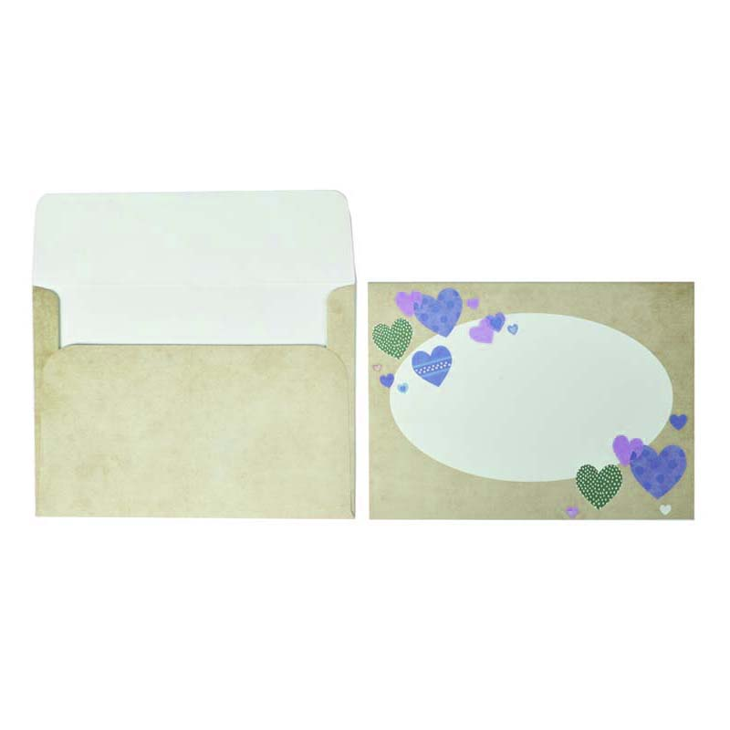 Beautiful and cute painted greeting card paper bags