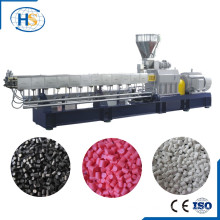 Color Powder/CaCO3 + Plastic Twin Screw Color Masterbatch Granulator