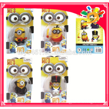 Hot selling plastic action figure minions despicable toys