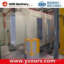 Máquina de revestimento automática do pó com Cyclone pequeno / multi