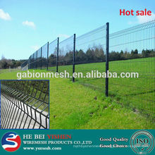 selling cheap pvc coated/lightweight/decorative metal flower garden fencing