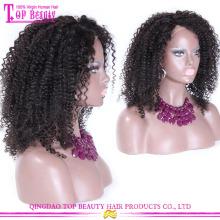 Китай производитель оптовой большой парики афро 100% девственница чернокожих женщин Бразилии человеческий волос Парики из натуральных волос афро