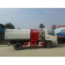 2015 precio bajo Euro IV mejor precio Dongfeng pequeño 5m3 nuevo camión de eliminación de residuos