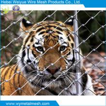 Red de cuerda de alambre de acero inoxidable para animales