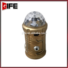GF-9047 15 LED Solar Light for Outdoor Camping Home Solar Lighting LED Lantern