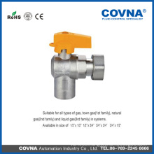 T handle brass ball valve size 1/2 Gas ball valve brass ball valve with butterfly handle