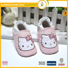 Well sell hot style mickey wholesale soft sole baby leather shoes