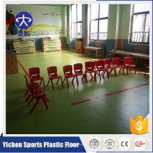 Piso de vinilo pvc suelo de vinilo decoración / escuela / jardín de infantes
