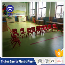 pvc flooring roll pvc decoration vinyl flooring/school/kindergarten