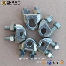 US Type malléable câble pince serre-câble