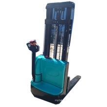 Empileur hydraulique entièrement électrique de palette de marche de 3m de hauteur