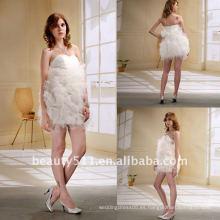 Astergarden Vestido de novia de moda a corto / vestido de fiesta / vestido de fiesta AS027