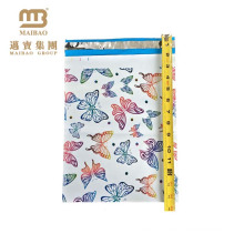 HOT SALE Custom Printed Rainbow Butterfly Patterned Factory Wholesale Poly Mailers