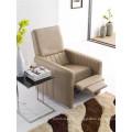 Натуральный кожаный кожаный диван для дивана с электроприводом (776)