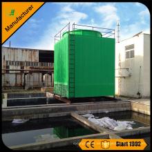 Torre de enfriamiento de agua cuadrada de flujo cruzado de alta calidad 400T