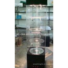 Suporte de exposição de eletrônica popular / Stand de exposição com LED