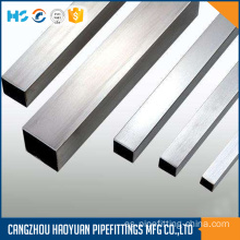 Diámetro grande SS 316L Seamless Square Pipes