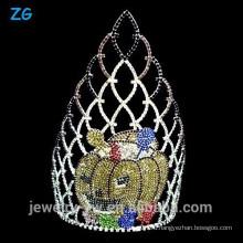 Большие цветные Хрустальные Хэллоуинские тыквы, Корона Паж