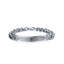 Religious christian prayer cross bracelets,chunky chain bracelet jewelry