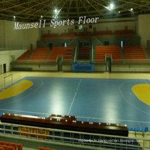 Plancher professionnel de sports de PVC de Handball