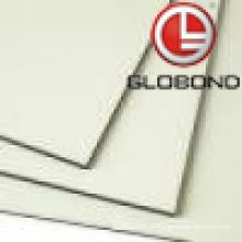 GLOBOND FR Panel compuesto de aluminio ignífugo (PF-414 Milky White)