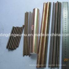 Barre / tige d'alliage de cuivre de tungstène