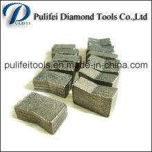 Segment de diamant d'outils de coupe abrasifs utilisé sur le coupeur de diamant