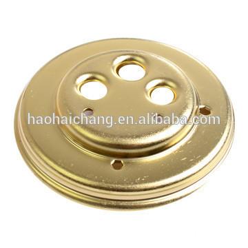 OEM metal stamping part rice cooker heating blind plate flange