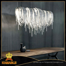 Alta cadena de la cadena de araña pendiente luz del proyecto decorativo (ka1161)