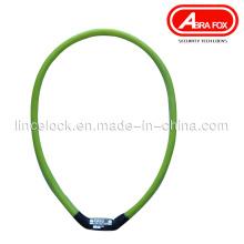Высококачественный комбинированный код Велосипедный кабельный замок (540)