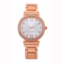 Diamond Brand Watch Rose Gold Luxury Best Choice Ladies Watch