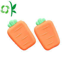 Newest Cute Carrot SIlicone Wallet Facy Coin Purse