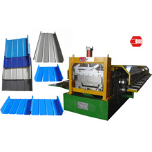 Standing Seam Roof Forming Machine for Staight & Tapered Roofing (YX65-300-400-500)