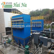 Logement de filtre de sac de jet d'impulsion avec le matériel d'acier inoxydable de PVC pour le traitement de l'air de rebut