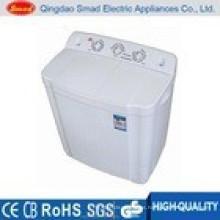 Uso doméstico semiautomático precio de la lavadora de la tina gemela