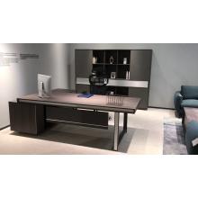hot sale comfortable acrylic desk leather desk set