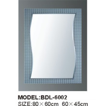 5mm Thickness Silver Glass Bathroom Mirror (BDL-6002)