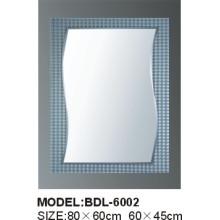 Толщина 5mm Серебряное стеклянное зеркало ванной комнаты (БДЛ-6002)